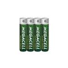 4 x Bateria Megacell Heavy LR03 AAA 1,5V Power (4)