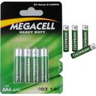4 x Bateria Megacell Heavy LR03 AAA 1,5V Power (1)